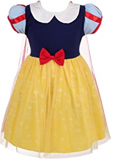 Dressy Daisy 公主白雪公主连衣裙安娜连衣裙爱丽丝连衣裙适合婴幼儿女孩