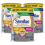 Similac 雅培 Pro-Sensitive 婴儿配方奶粉,含铁,含2'-FL HMO,婴儿配方奶粉,粉末,34.9…