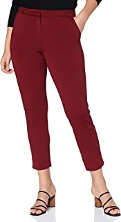 VERO MODA 女士 VMLILITH MR 针织及踝裤颜色裤子,桃红色,M