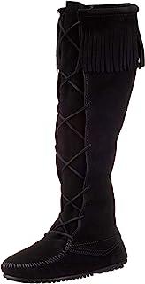 Minnetonka 迷你唐卡 女 弗朗蕾丝高靴 长筒靴 142