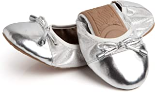 Talaria Flats 女士可折叠芭蕾平底鞋