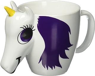 原创正品 Thumbs Up Unicorn 变色陶瓷马克杯 - 多色 - 添加热茶或咖啡,观看彩虹