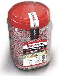 Fischer Duopower 罐 灰色/红色 Bote 6x30 557383