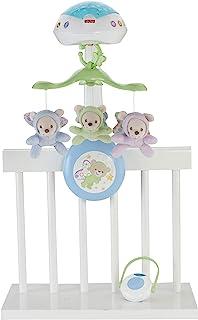Fisher-Price 费雪 Butterfly Dreams 3 合 1 投影移动婴儿床玩具