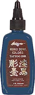 Kuro Sumi 纹身墨水,佛像蓝,2 盎司