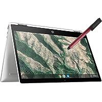 HP Chromebook X360 14 英寸可转换 2 合 1 触摸屏笔记本电脑_ Intel Celeron N4…