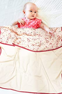 Wallaboo 婴儿毛毯 * 纯棉,蓬松柔软,儿童床被,非常适*为婴儿毯,毯子或毛毯,100 x 90 厘米,多色