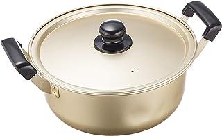 Cook All 铝锅 金色 20cm H-1893