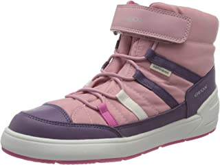 Geox 健乐士 女孩 J Sleigh Girl B ABX J049se0fu54 雪地靴