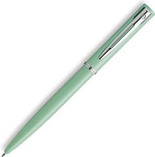 Waterman Allure 圆珠笔 | 薄荷绿哑光漆镀铬饰边 | 中尖 | 蓝色墨水 | 带礼品盒