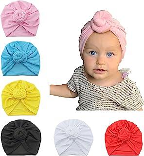 Vpogn 女婴帽子*帽子婴儿头巾 幼儿园无檐*帽
