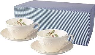 Wedgwood 欢宴系列 茶杯碟套装 对装 树莓 (已礼品包装)