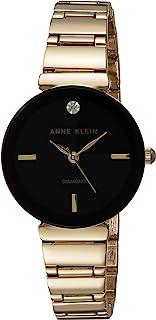 Anne Klein 女士石英合金表带手表(型号:AK / 2434BKGB)
