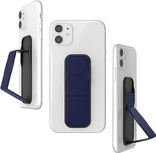 CLCKR 手机手柄和扩展支架,通用手机手柄支架,具有多种视角,适用于 iPhone、三星、手机、平板电脑等 - 对角线*蓝