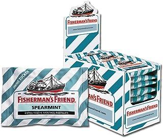 Fisherman's Friend 渔夫之宝 留香薄荷味润喉糖 24小袋/盒 ,无糖,清新口气