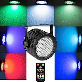派对闪光灯,softeen Sound Activated DJ 频闪灯,带无线遥控和 88 个 5050 超亮 LED,可调节闪烁速度和颜色,非常适合派对、生日、迪斯科