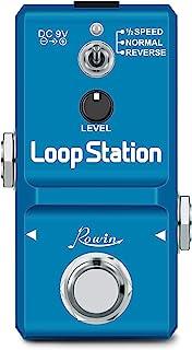 Rowin Loop Station 循环效果踏板,带 8G SD 卡,可进行 10 分钟的循环,无限覆盖,1/2 次和反向