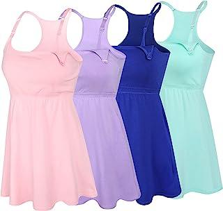 SUIEK 3 件装哺乳背心 Cami 孕妇衬衫 *文胸 适合哺乳
