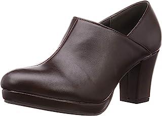 Libertide de de all 追求轮廓和穿着舒适感的粗跟美腿短靴/5532 5532 5532 女士