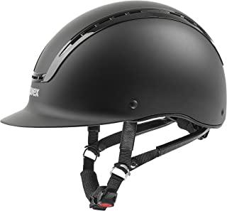 Uvex Suxxeed Active 成人骑行帽,男女通用,Reiterhelm Suxxeed Active 黑色