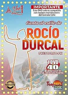 卡拉 OK Rocio Durcal DVD 40 首歌曲