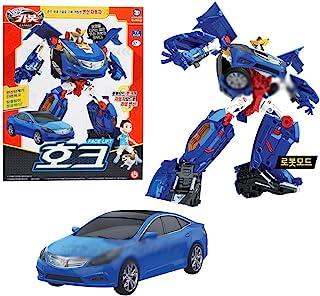 Hello CARBOT 2020 新款面部提升鹰变身汽车玩具机器人公仔蓝色男孩款