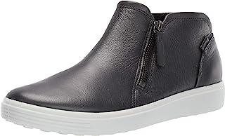 ECCO 爱步 Soft 7 柔酷7号 女式拉链运动短靴