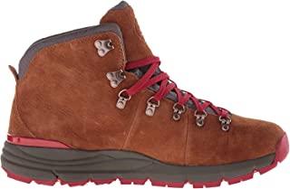 Danner Mountain 600 4.5 英寸徒步靴 棕色/红色 7.5 M US