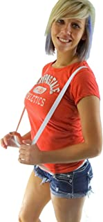 Hold-Ups Urban Youth 1.9cm 宽背带,带防滑夹(白色)
