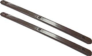 Merriway® BH07116,棕色抽屉滑轨 310 毫米(12.5 英寸)x 16 毫米 x 6 毫米,塑料,20 个装