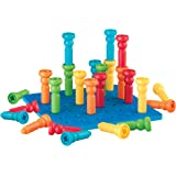 Lauri Tall-堆叠积木 - 拼插和插板玩具套装