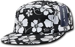 Decky 1069 5 面板花卉赛车帽