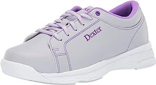 Dexter 女式 Raquel V 冰/紫罗兰宽保龄球鞋