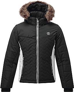 Dare 2b 中性款儿童雪花防水透气压胶接缝绗缝隔热夹克夹克