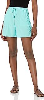 Star Vixen 女式加大码纸包腰短裤,薄荷色,2X