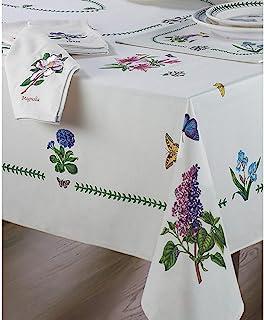 Avanti Linens 植物花园 60X84 桌布,象牙色