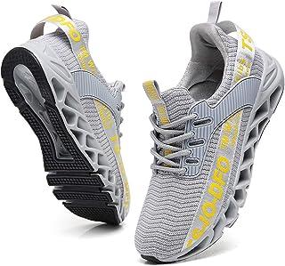 wanhee 男式运动鞋运动跑步运动网球步行鞋