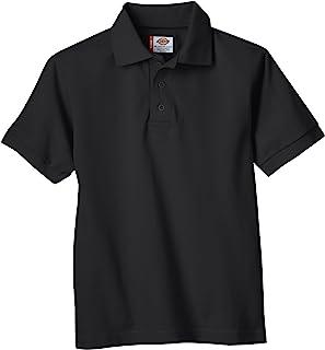 Dickies 男孩短袖珠地布 Polo 衫