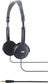JVC HA-L50B 黑色可折叠轻质时尚耳机 HAL50