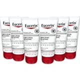 Eucerin Original 保湿修护面霜,无香料,丰富的乳液,适合非常干燥的皮肤-2盎司/管,57克/管(6个装)