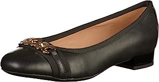 Geox 健乐士女式 D Wistrey C 芭蕾平底鞋