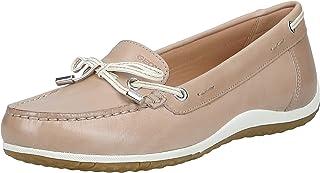 Geox 女士 D Vega 莫卡辛鞋