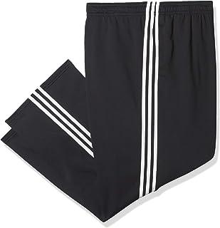 adidas 阿迪达斯男士必备3条纹抓绒慢跑裤