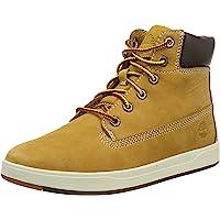 Timberland 中性款儿童 Davis Square 6 英寸(青少年)经典靴子
