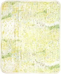 NAOMI ITO 鸡蛋 6层纱布毯 宝宝尺寸 黄绿
