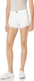 A|X Armani Exchange 女士纯色染色弹力牛仔短裤