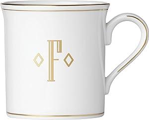 Lenox 联邦金块交织字母餐具 字母 F 874359