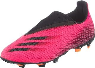adidas 阿迪达斯中性儿童 X Ghosted.3 Ll Fg J 足球鞋