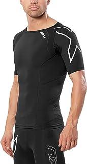 2XU 男式压缩短袖上衣