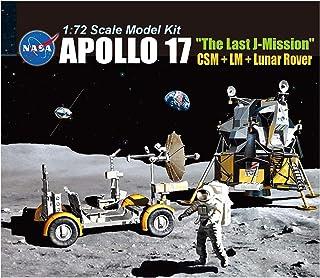 勇者斗恶龙 1/72 阿波罗17号 *终J 指挥船+着陆船+月面探查车(露奈罗伯)塑料模型 DR11015